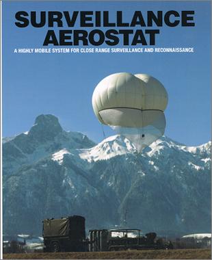Photo 3 Vidéo Surveillance Aérostat Ballon